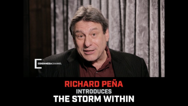 Richad Pena introduces The Storm Within
