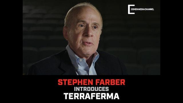 Stephen Farber introduces Terraferma