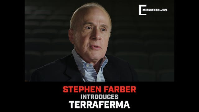 Stephen Farber introduces Terraferma