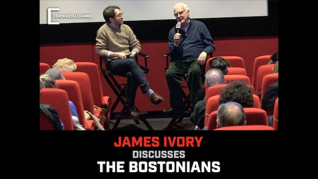 James Ivory on The Bostonians
