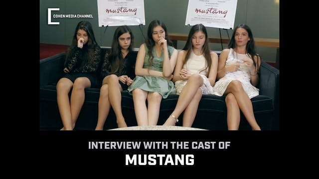 Interview with the cast of Mustang