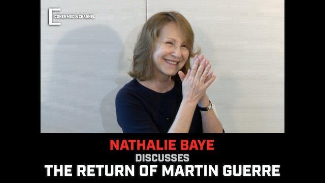 Nathalie Baye on The Return of Martin...