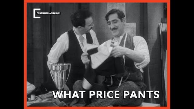 What Price Pants