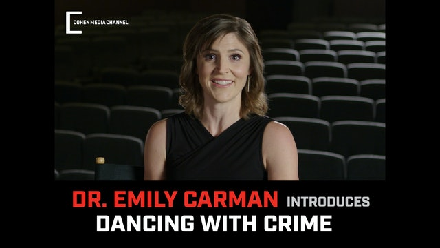 Emily Carman introduces Dancing With Crime