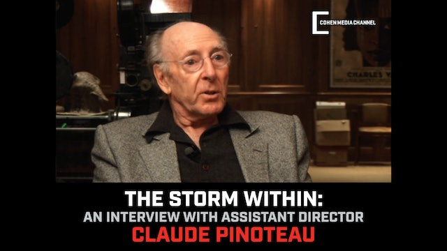 Learning To Direct - Claude Pinoteau on The Storm Within