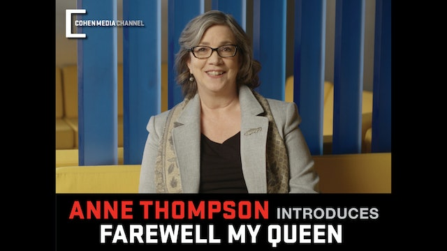 Anne Thompson introduces Farewell My Queen
