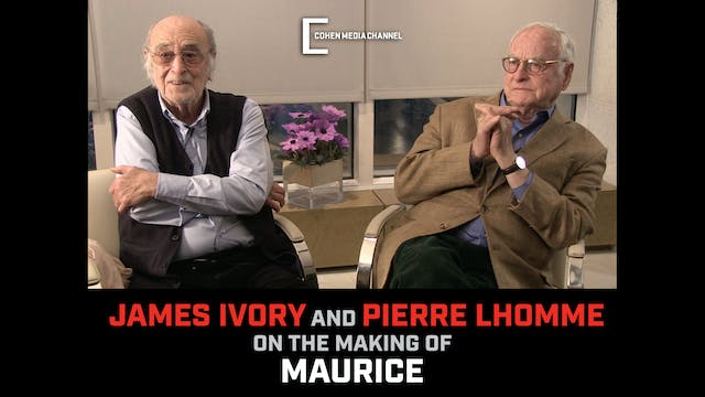 James Ivory and Pierre Lhomme on the ...
