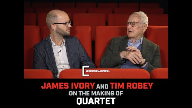 The Making of Quartet with James Ivor...