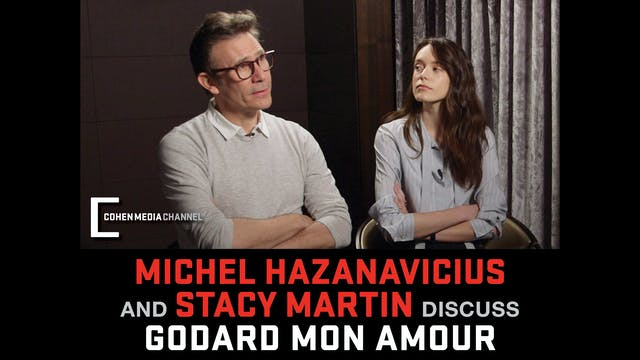 Michel Hazanavicius and Stacy Martin ...