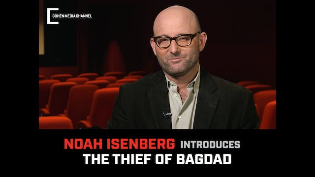 Noah Isenberg introduces The Thief of...