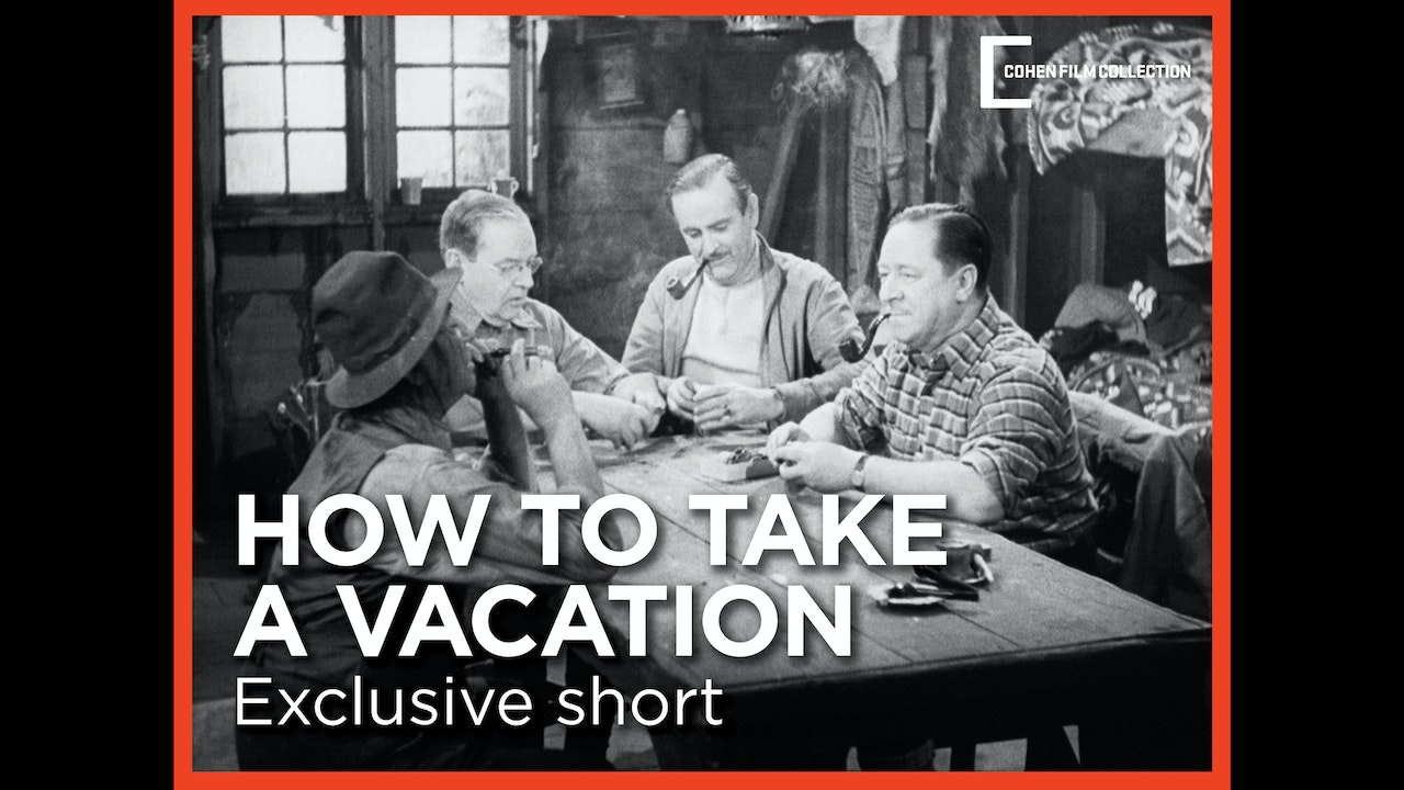 How to Take a Vacation