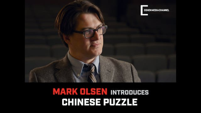 Mark Olsen introduces Chinese Puzzle