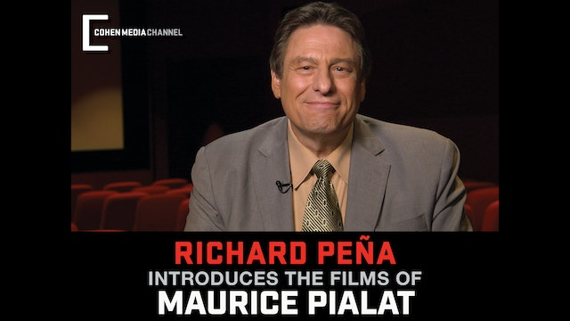 Richard Pena introduces The Films of Maurice Pialat