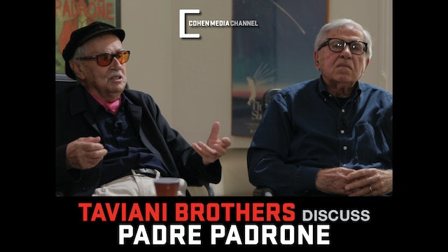 The Taviani Brothers Interview - Part 1