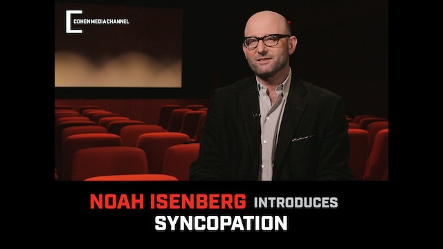 Noah Isenberg introduces Syncopation