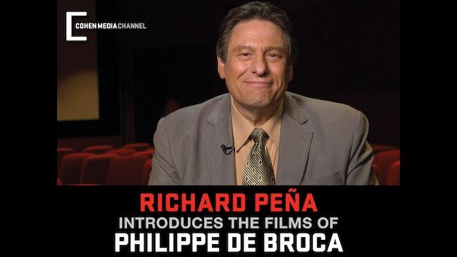 Richard Peña introduces The Films of Philippe de Broca