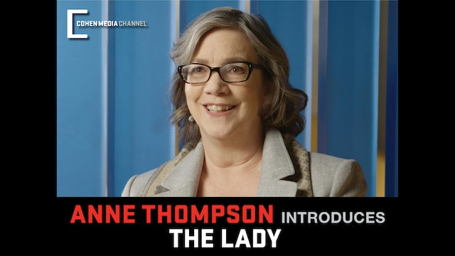 Anne Thompson introduces The Lady