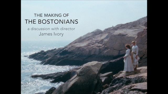 The Making of The Bostonians with James Ivory and Tim Robey