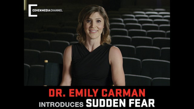 Emily Carman introduces Sudden Fear