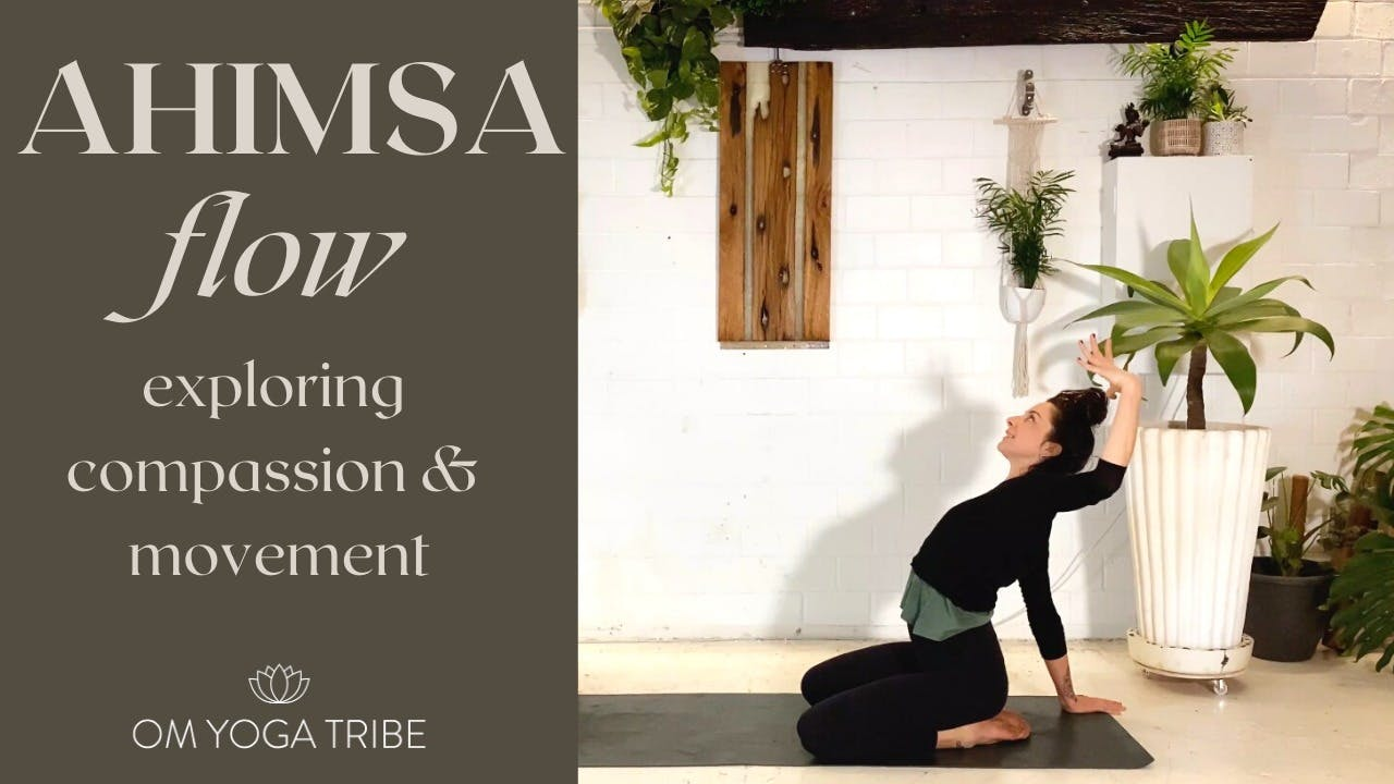 1 Hour : Ahimsa Flow with Cole Chance