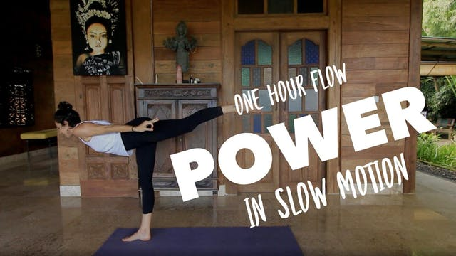 1 Hour: Power Slow Flow with Cole Chance