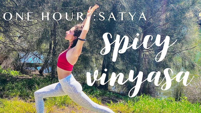 1 Hour : Satya Spicy Vinyasa with Cole Chance