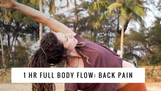 1 Hour : Full Body Flow for Back Pains