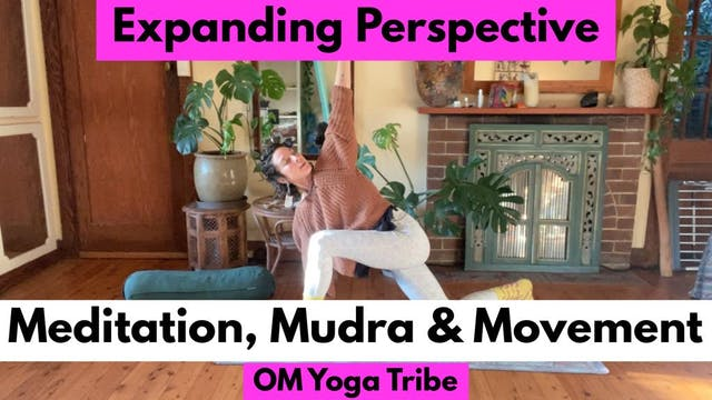 1 Hour : Expanding Perspective, Mudra, Meditation & Movement with Cole Chance