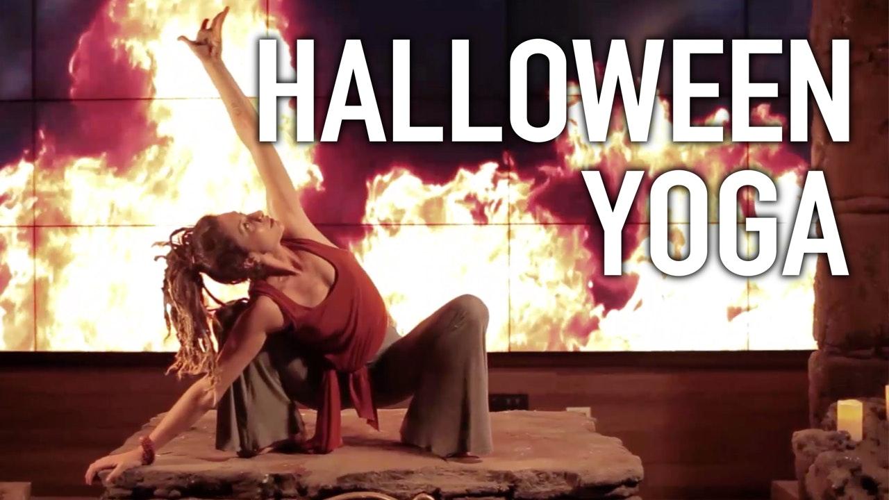 Full Body Yoga - Total Body Halloween Workout