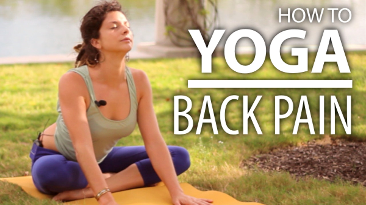 Yoga For Back Pain - 25 Minute Back & Neck Stretch. Beginners Yoga Flow