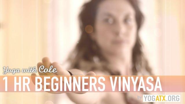 Cole's Full Hour Beginners Vinyasa