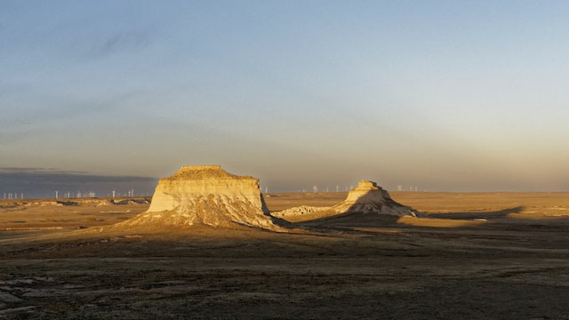 Following The Shadows at Pawnee Buttes