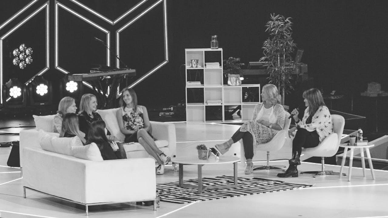 Let's Talk Sisterhood  - Bobbie Houston and Friends - Colour Conference 2017 Sydney