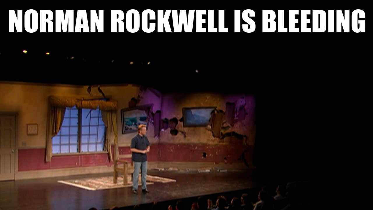 NORMAN ROCKWELL IS BLEEDING