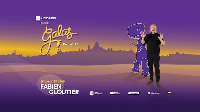 Gala ComediHa! animé par Fabien Cloutier 16 janvier 2021, 20h