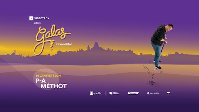 Gala ComediHa! animé par P-A Méthot