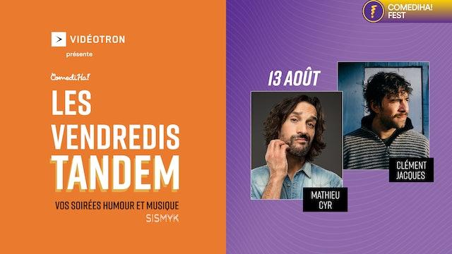 13 Août 2021 | 21h00 | Les Vendredis Tandem : vos soirées humour et musique