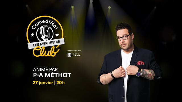 Les Mercredis ComediHa! Club (27/01/21) à 20h