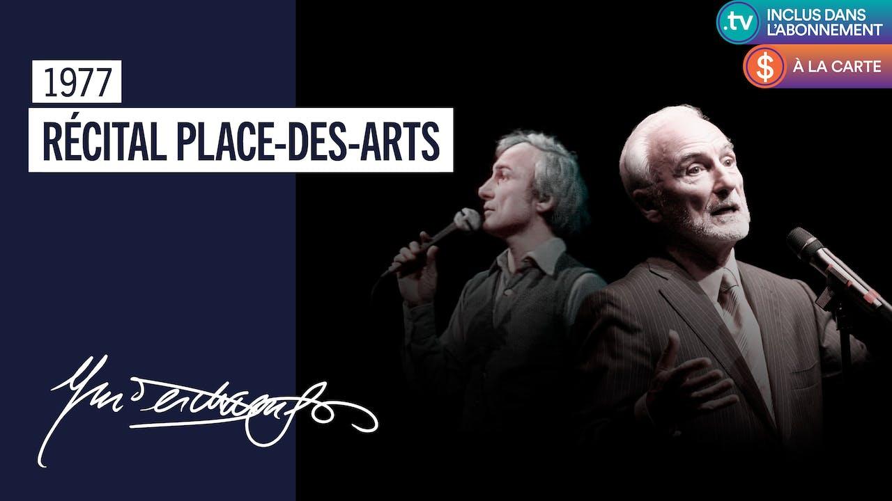 Récital Place-des-Arts