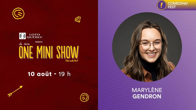 10 Août 2021 | 19h00 | One Mini Show ...