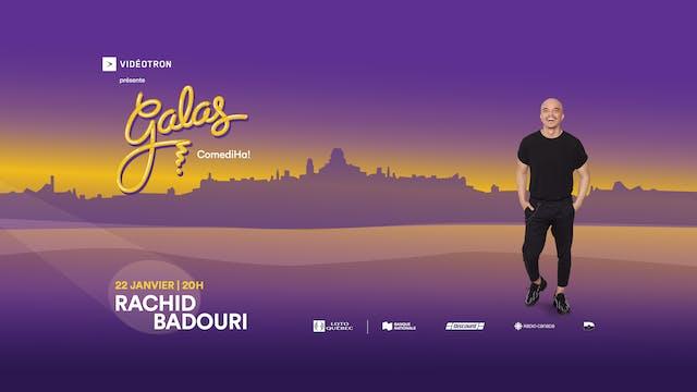 Gala ComediHa! animé par Rachid Badouri 22 janvier 2021, 20h