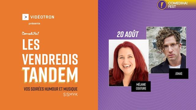 20 Août 2021 | 21h00 | Les Vendredis Tandem : vos soirées humour et musique