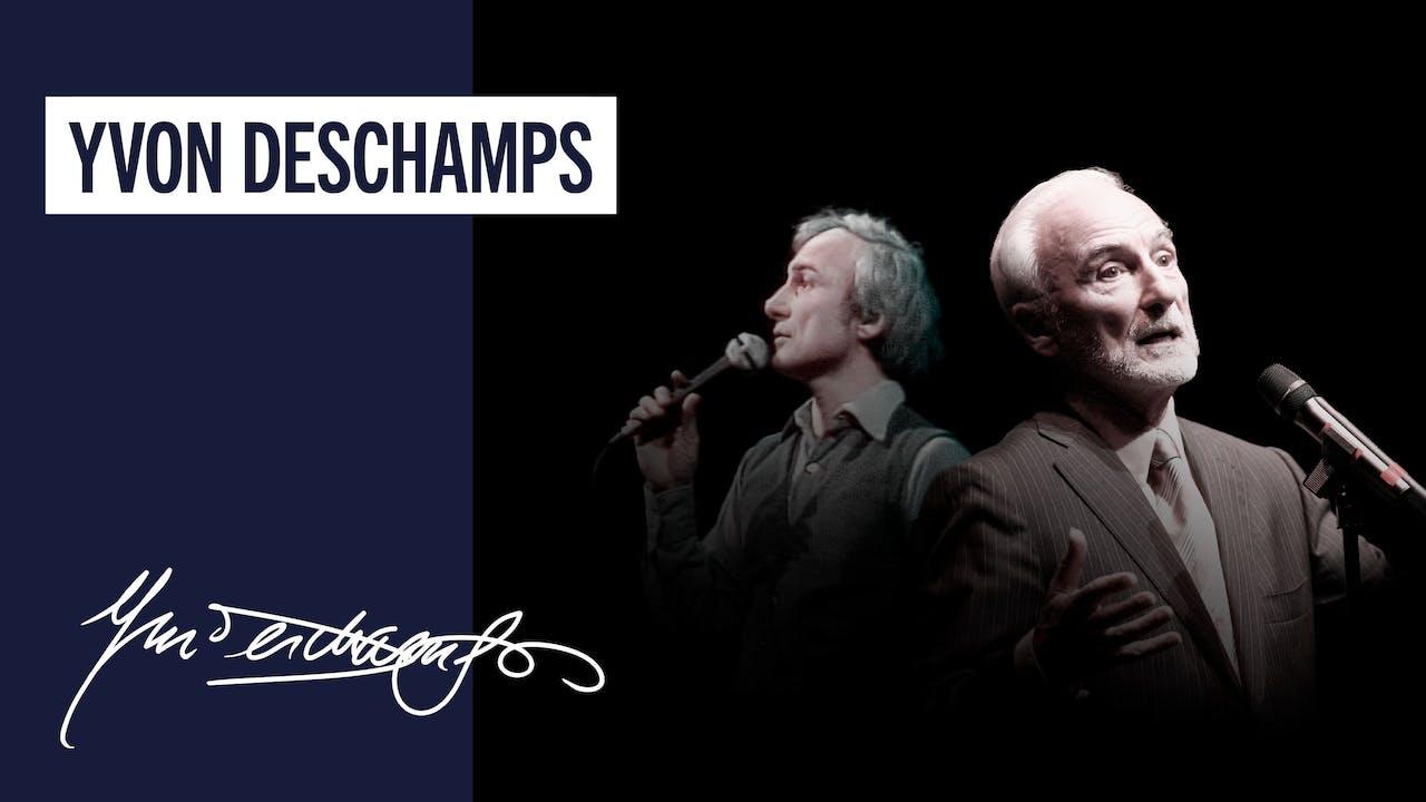 Yvon Deschamps   En Recital - Partie 1 et 2