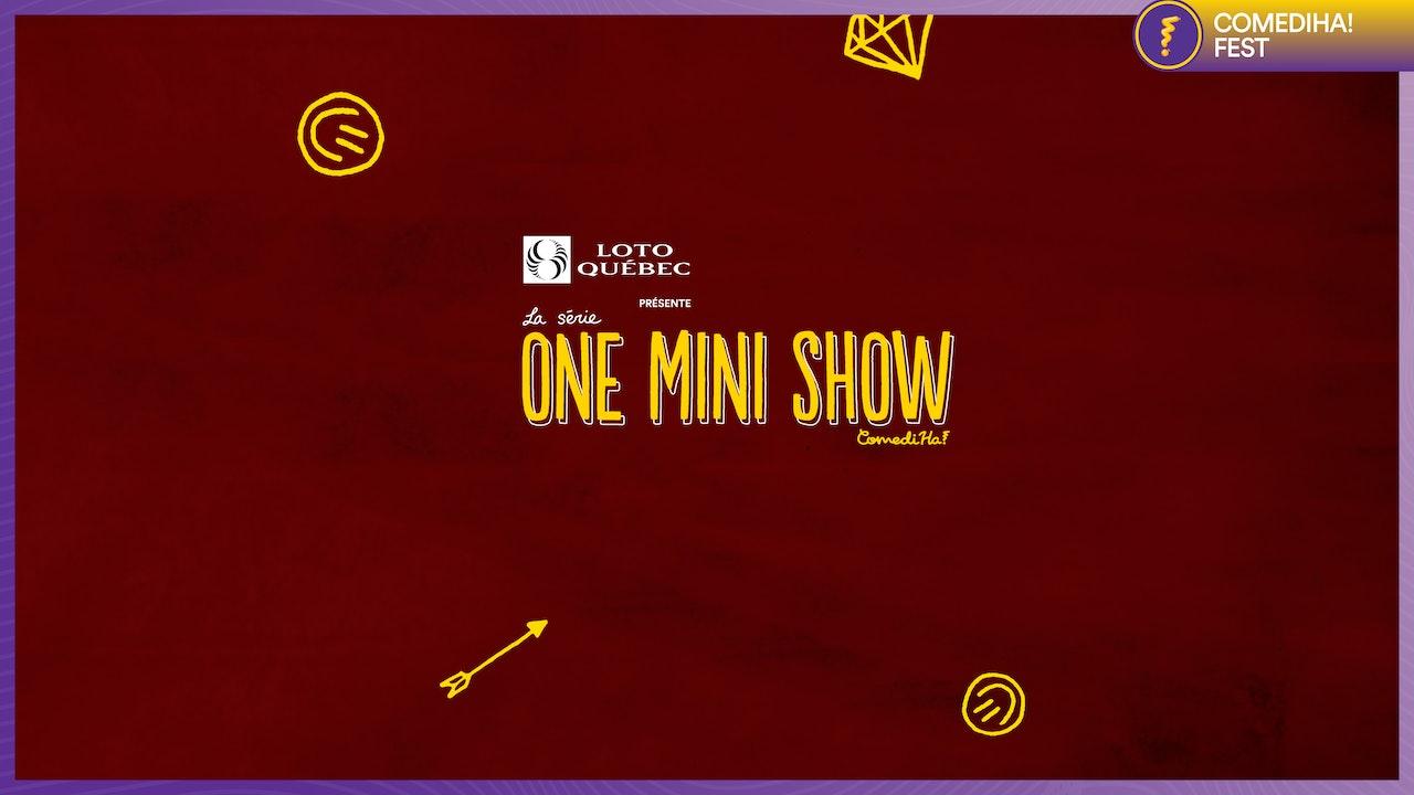 La série One mini show présentée par Loto-Québec - ComediHa! Fest