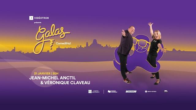 Gala ComediHa! animé par Anctil & Claveau 21/01/21