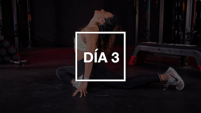Día 3: HIIT Full Body Workout con Yadira