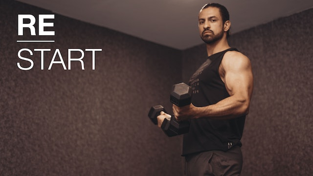 ReStart/ día 9: Upper Focus & sweat con Pete