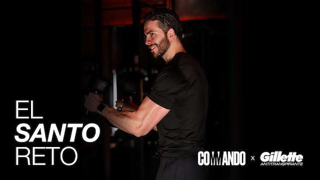 El Santo Reto / Día 9: Non stop sweat & Piernas con Mariano