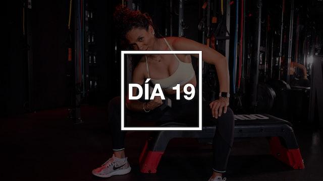 Día 19: Core & Strength Bodyweight con Yadira