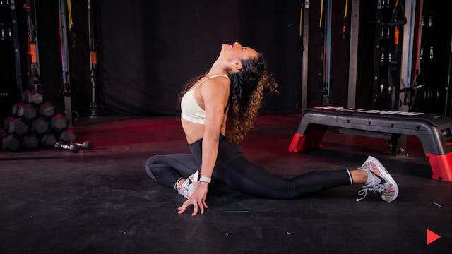 Stretch y flexibilidad con Yadira